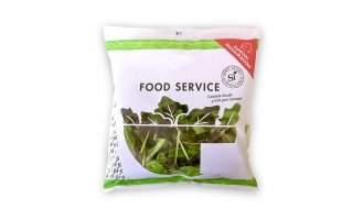 Produce packaging front salad