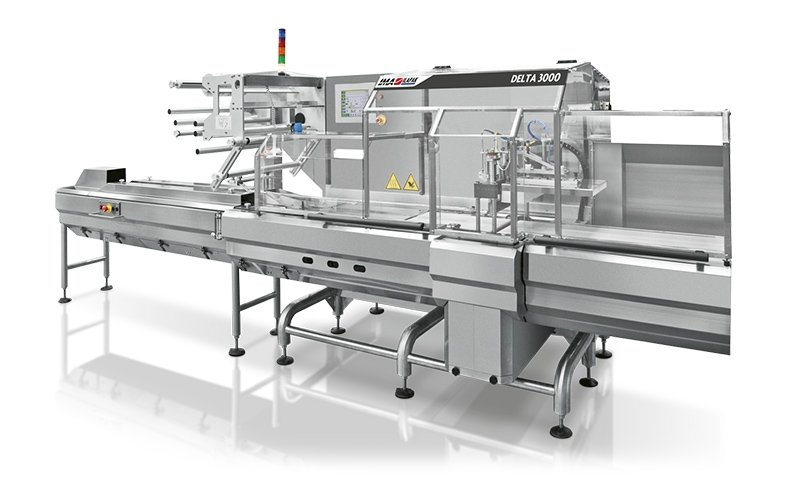 Ima Ilapak Delta 3000 horizontal flow wrap form fill and seal flow wrapper packaging machine for bakery