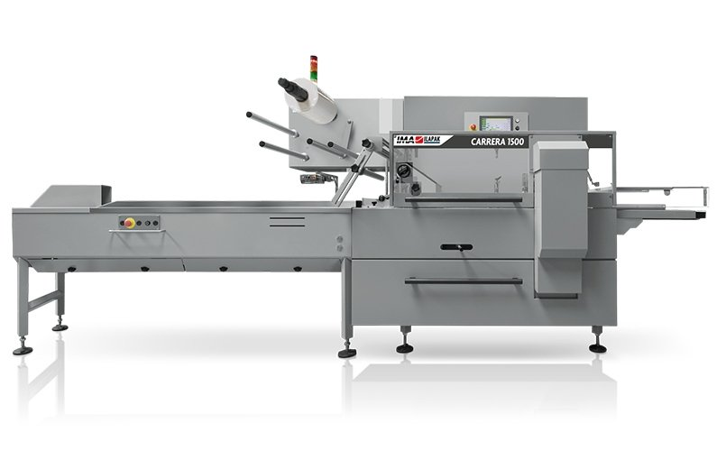 Ima Ilapak Carrera 1500 horizontal flow wrap packaging machine form fill and seal with rotatable jaws