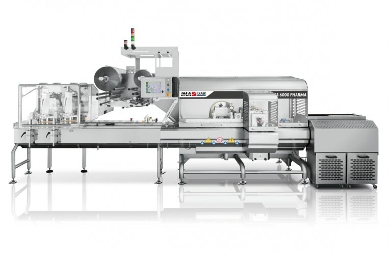 Ima Ilapak Delta 6000 Pharma horizontal HFFS flow wrapper packaging machine for Pharma and medical devices BFS