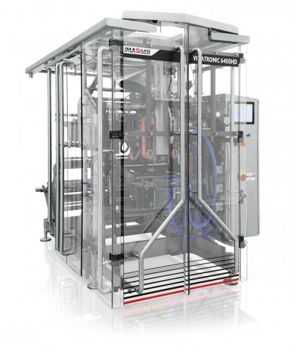 Ima Ilapak Vegatronic 6400 OF vertical form fill seal bagger packaging machine